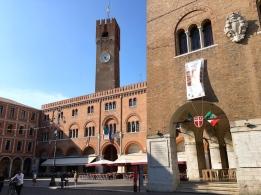 Piazza dei Signori & Palazzo dei Trecento Treviso, Italy Date: Monday May 29, 2017