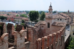 view of the Torre di Malta and Porta Padova