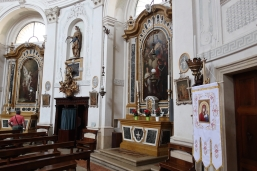 Inside the Chiesa di S Agostino Treviso, Italy Date: Thursday June 01, 2017