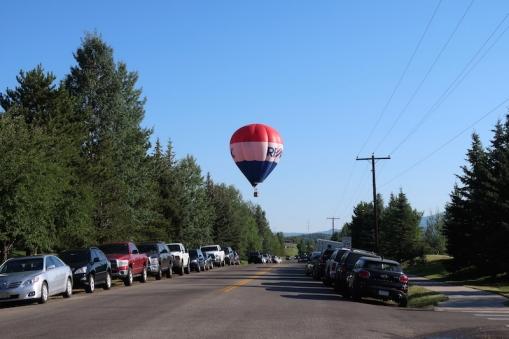 hot air balloons Steamboat Springs, Colorado Date: Saturday July 08, 2017