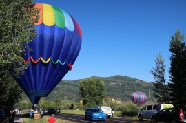 hot air balloons Steamboat Springs, Colorado Date: Sunday July 09, 2017