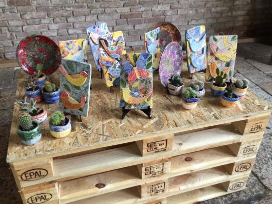 middle school art exhibit Treviso, Italy Date: Thursday June 01, 2017