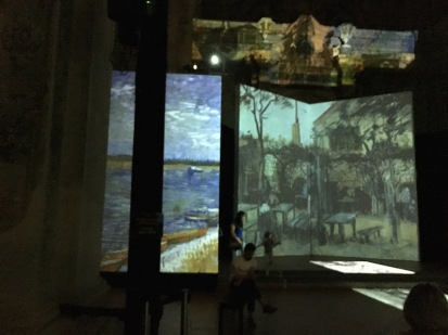 Van Gogh Alive – The Experience - held inside the ex chiesa San Mattia Bologna, Italy Date: Tuesday June 06, 2017