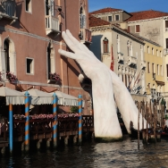 """""""Support"""" by Lorenzo Qunn - part of the 2017 Venice Biennale"""