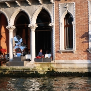 vaporetto ride on the Grand Canal