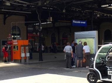 train travel Bologna, Italy Date: Thursday June 08, 2017