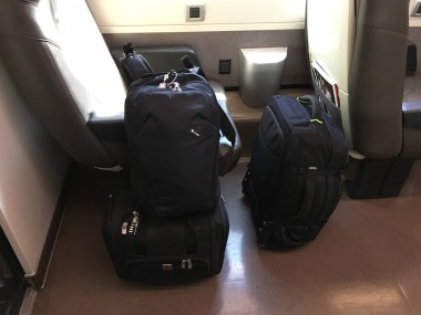 My seat/my luggage