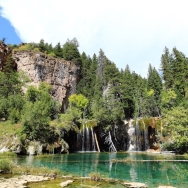 The prize - Hanging Lake!