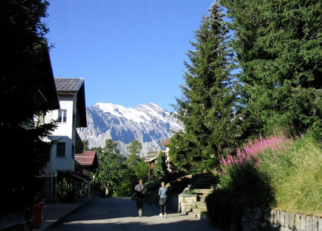 Italy Trip 2003, Mürren, Switzerland