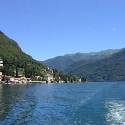 boat ride to Como Italy Trip 2003, Lago di Como, Italy Date: Wednesday July 02, 2003