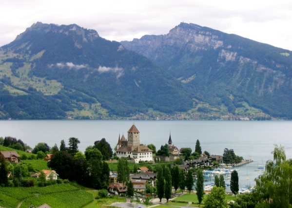 Italy Trip 2003, Spiez, Switzerland
