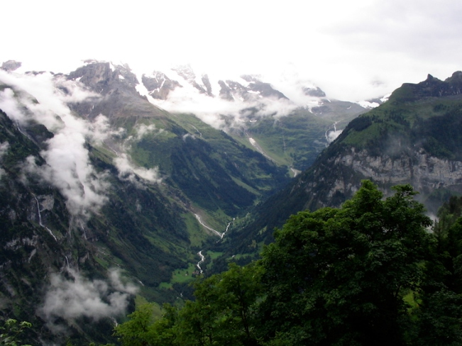 Italy Trip 2003, Mürren, Switzerland