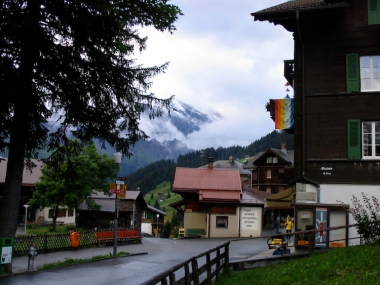 Italy Trip 2003, Mürren, Switzerland Date: Friday July 04, 2003
