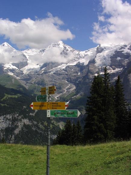 Italy Trip 2003, Mürren, Switzerland Date: Sunday July 06, 2003