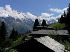 Italy Trip 2003, Mürren, Switzerland Date: Sunday July 06, 2003
