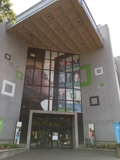 Salt Lake City, Utah, July, 2018 - Family HIstory Library