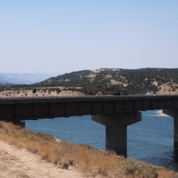 Just outside of the town of Duchesne, Utah - Starvation Reservoir Vista Rest Stop Date: Monday July 30, 2018