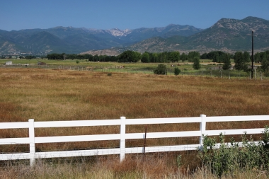 Just outside Heber City, Utah - heading towards Colorado Date: Friday August 03, 2018