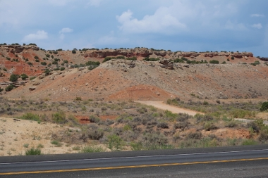 side of the road, somwhere between Roosevelt & Vernal, Utah Date: Friday August 03, 2018