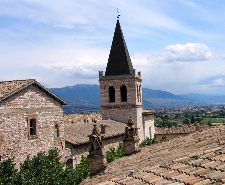 Italy Trip 2005, Spello, Italy
