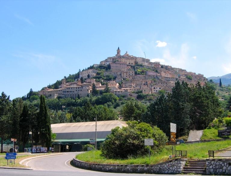 Italy Trip 2005, Trevi, Italy
