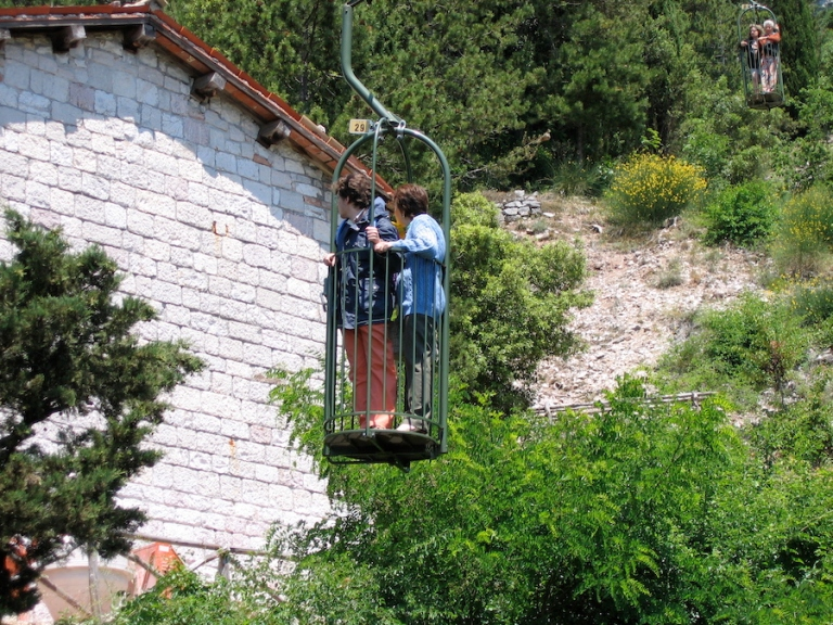 Italy Trip 2005, Gubbio, Italy