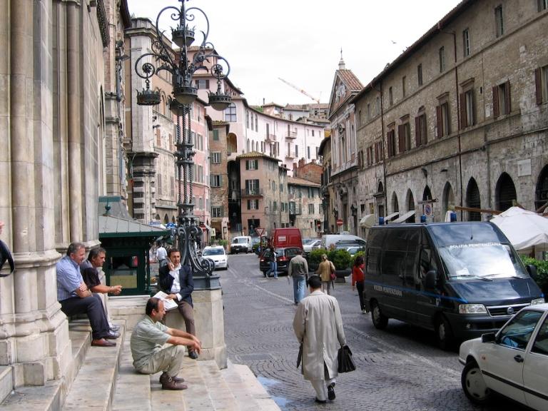 Italy Trip 2005, Perugia, Italy