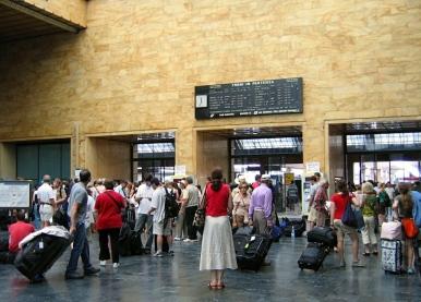 Firenze Santa Maria Novella (Firenze SMN) or Stazione di Santa Maria Novella Italy Trip 2005, Firenze, Italy Date: Monday June 20, 2005