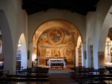inside Santo Stefano Church Italy Trip 2005, Rovato, Italy Date: Sunday June 26, 2005