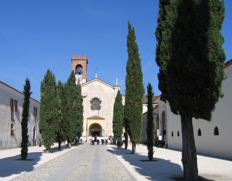 L'Abbazia Olivetana di San Nicola Italy Trip 2005, Rodengo-Saiano, Italy Date: Sunday June 26, 2005