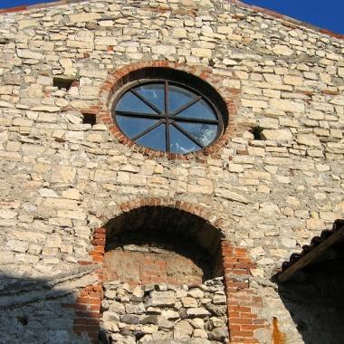 Il monastero di San Pietro in Lamosa Italy Trip 2005, Provaglio d'Iseo, Italy Date: Sunday June 26, 2005