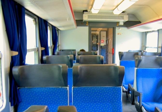 Italy Trip 2005, train to Varenna, Italy