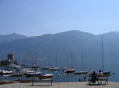 little fishing village 5 minute walk from Bellagio Italy Trip 2005, Pescallo, Lago di Como, Italy Date: Tuesday June 28, 2005