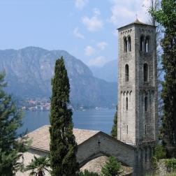 Romanesque church of Santa Maria di Loppia Italy Trip 2005, Loppia, Lago di Como, Italy Date: Tuesday June 28, 2005