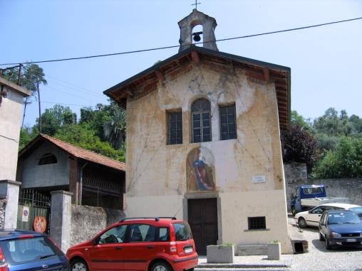 Piazza San Andrea Italy Trip 2005, Guggiate, Lago di Como, Italy Date: Tuesday June 28, 2005