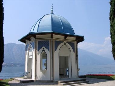 The gardens of Villa Melzi Italy Trip 2005, Bellagio, Lago di Como, Italy Date: Tuesday June 28, 2005