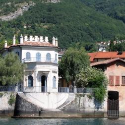 boat ride from Bellagio to Villa del Balbianello - view somewhere between Tremezzo & Lenno Italy Trip 2005, Lago di Como, Italy Date: Thursday June 30, 2005