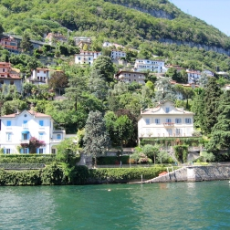 boat ride from Bellagio to Como Italy Trip 2005, Lago di Como, Italy Date: Friday July 01, 2005