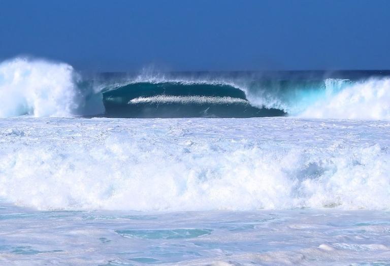 North Shore - Big Waves, Oahu, Hawaii, December, 2018