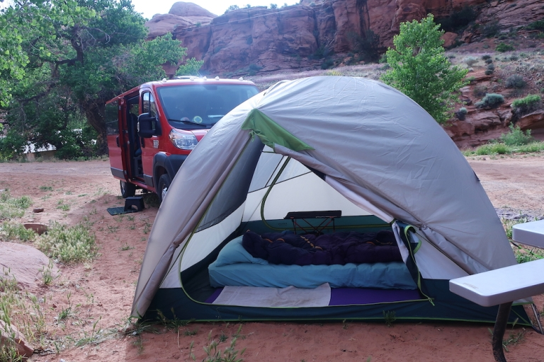 Moab Trip 2019, Kane Creek Campground, Moab, Utah